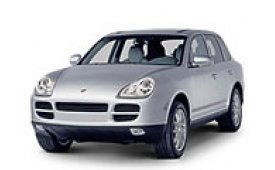 Каркасные шторки на Porsche Cayenne Внедорожник-Кроссовер 955 2002 - 2010