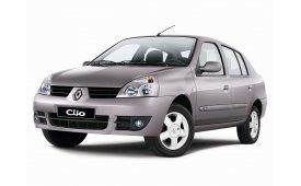 Каркасные шторки на Renault Clio Седан 1998 - 2013