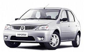 Каркасные шторки на Renault Logan Седан 2004 - 2015