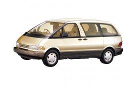 Каркасные шторки на Toyota Estima/Previa Минивэн XR10/XR20 1990 - 2000