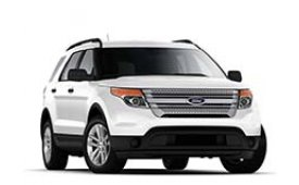 Каркасные шторки на Ford Explorer Внедорожник-Кроссовер 2010 - н.в.