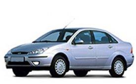 Каркасные шторки на Ford Focus Седан 1998 - 2005