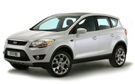 Каркасные шторки на Ford Kuga Внедорожник-Кроссовер 2008 - 2012