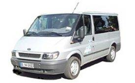 Каркасные шторки на Ford Transit Фургон 2000 - 2006