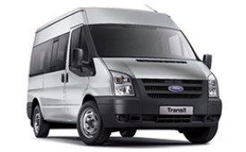 Каркасные шторки на Ford Transit Фургон 2006 - 2014