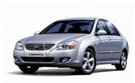 Каркасные шторки на Kia Cerato Седан EX 2004 - 2008