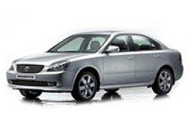Каркасные шторки на Kia Magentis Седан MG 2006 - 2010