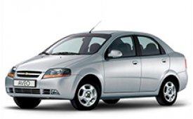 Каркасные шторки Aveo T200 Седан 2002 - 2008