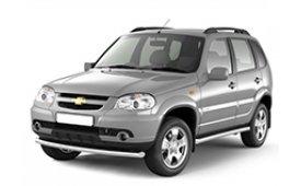 Каркасные шторки на Lada Chevrolet Niva Внедорожник-Кроссовер 2002 - н.в.