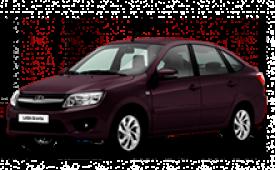 Каркасные шторки на Lada Granta Седан Liftback 2011 - н.в.