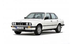 Каркасные шторки на BMW 3er Седан E30 1983 - 1991