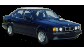 Каркасные шторки на BMW 5er Седан E34 1988 - 1995