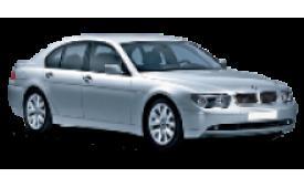 Каркасные шторки на BMW 7er Седан E65/E66 2001 - 2008