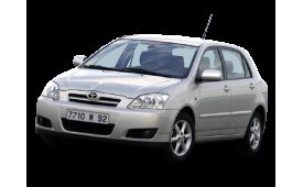 Каркасные шторки Corolla Alexx Хетчбэк 5 дв. E120 2001 - 2006