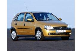 Каркасные шторки на Opel Corsa  Хетчбэк 5 дв. C 2000 - 2006