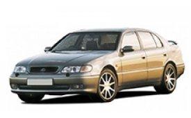 Каркасные шторки на Lexus GS Седан 1993 - 1997