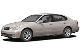 Каркасные шторки на Lexus GS Седан 1997 - 2004