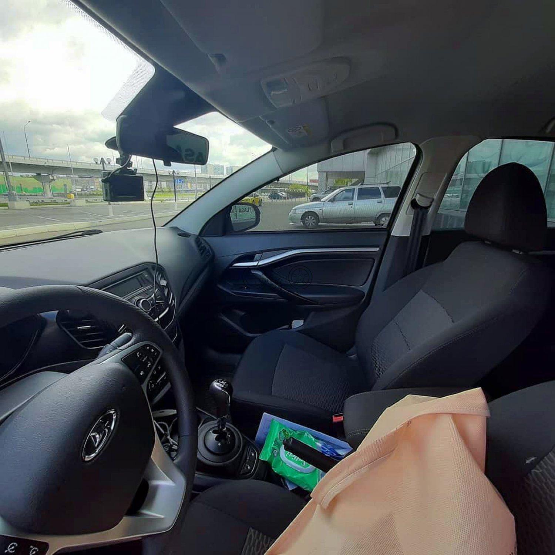 Автошторки на Lada Vesta седан