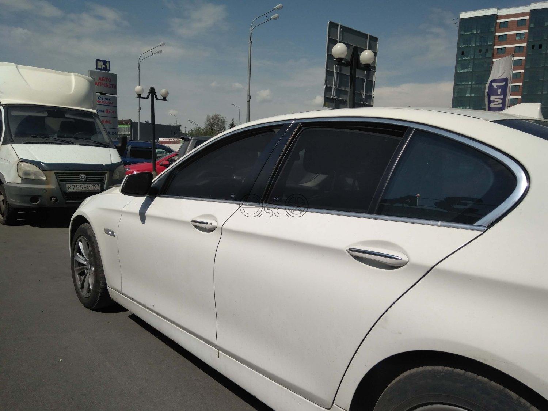Каркасные шторки на BMW 5-Series F10