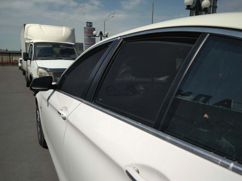 Каркасные сетки на окна BMW 5-Series F10