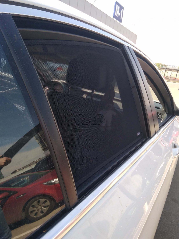 Каркасные шторки на боковые окна BMW 5-Series F10