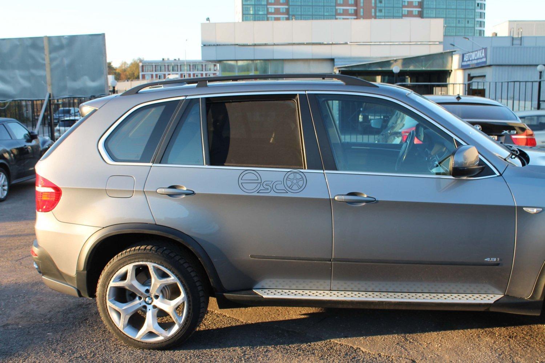 Каркасные шторки на BMW X5 E70