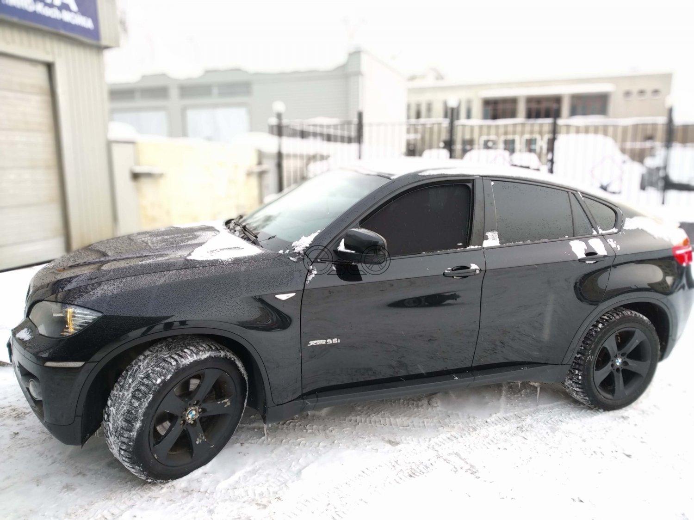 Каркасные шторки на BMW X6 E71