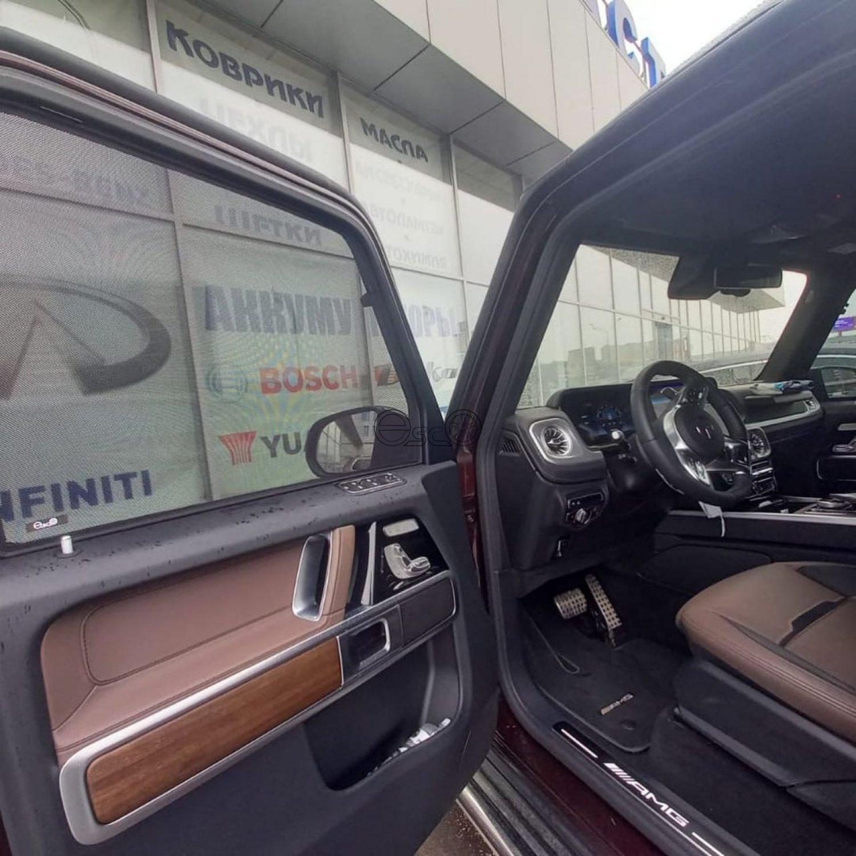 Каркасные сетки на передние боковые окна Mercedes-Benz G-Class W463