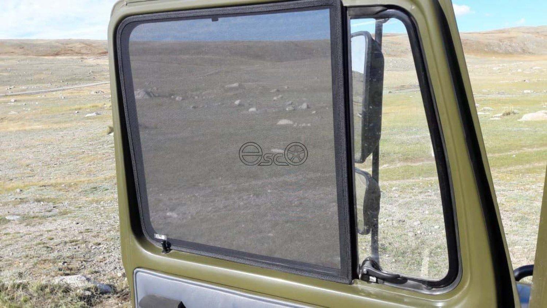 Каркасные шторки на GAZ 3307 ГАЗИК