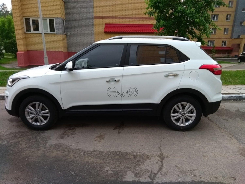 Каркасная тонировка Hyundai Creta