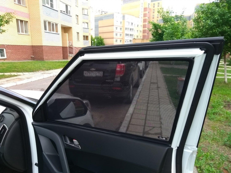 Автомобильные шторки Hyundai Creta