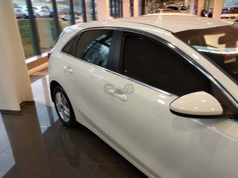 Каркасные шторки на Kia Ceed 3