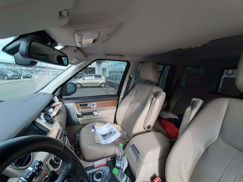 Каркасные сетки на окна Land Rover Discovery 4