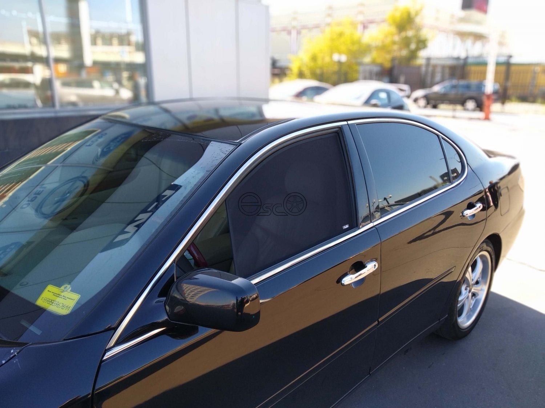 Каркасные шторки на Lexus ES 4