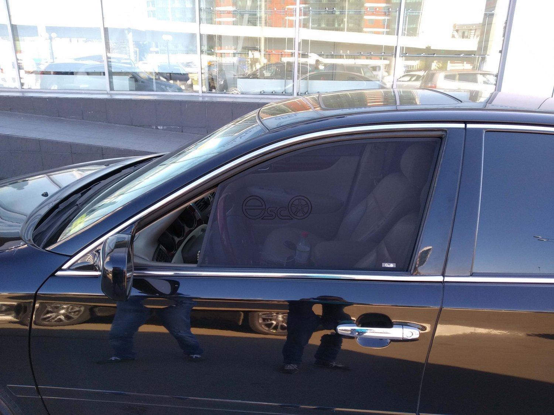Каркасные сетки на окна Lexus ES 4