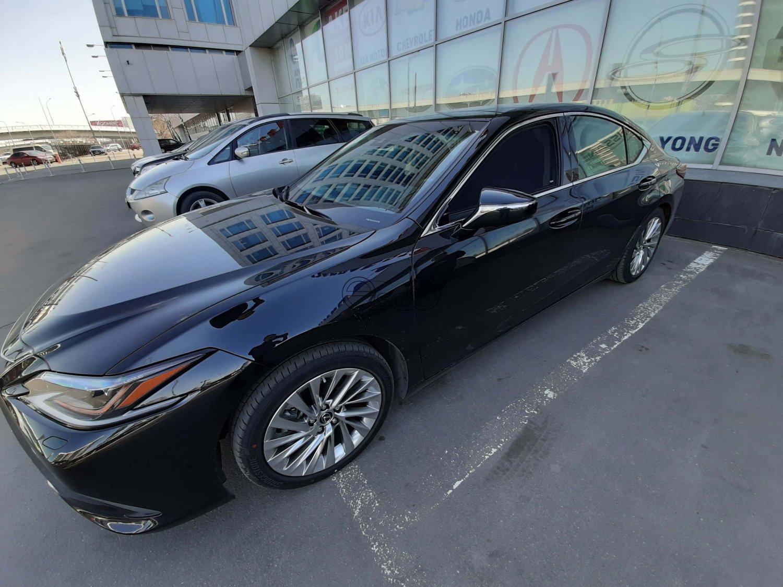 Каркасные шторки на Lexus ES 7
