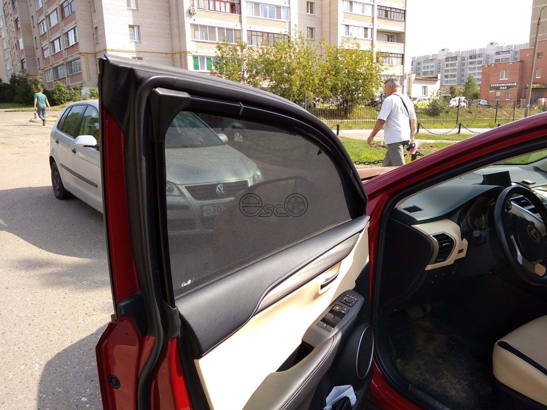 Автошторки на Lexus NX