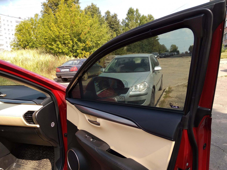 Каркасные сетки на окна Lexus NX