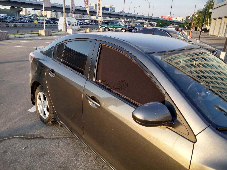 Каркасные шторки на Mazda 3 BL