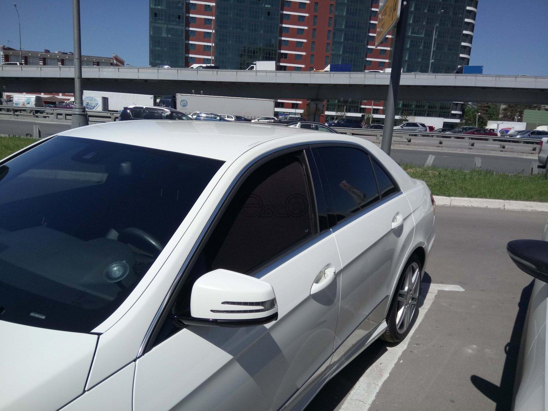 Каркасные шторки на Mercedes-Benz E-Class W212