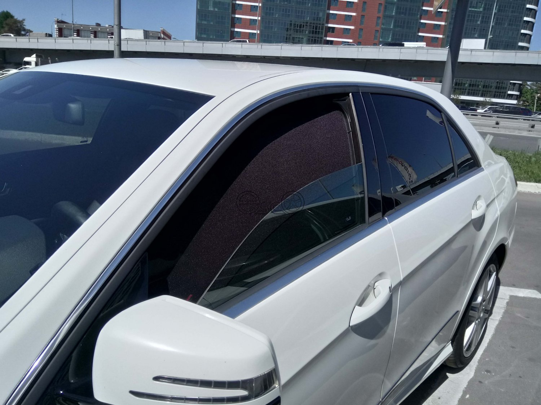 Автошторки на МMercedes-Benz E-Class W212