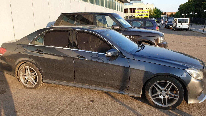 Съемная тонировка на Mercedes-Benz E-Class W212
