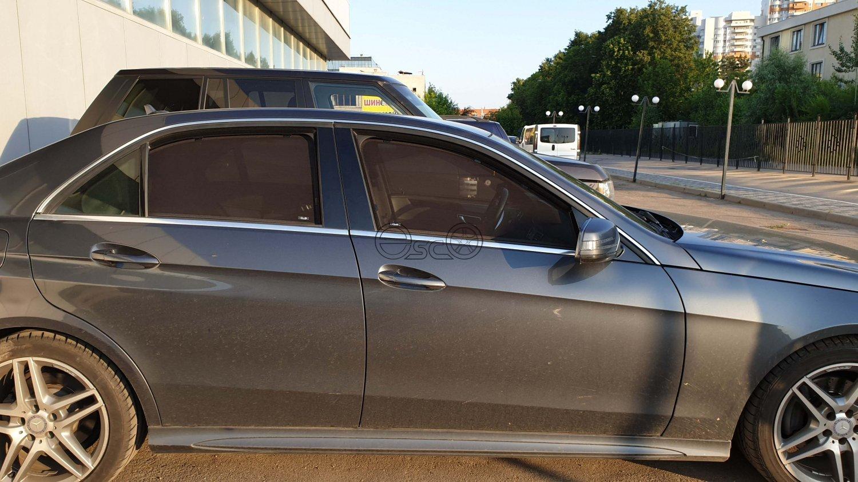 Съемные шторки на Mercedes-Benz E-Class W212