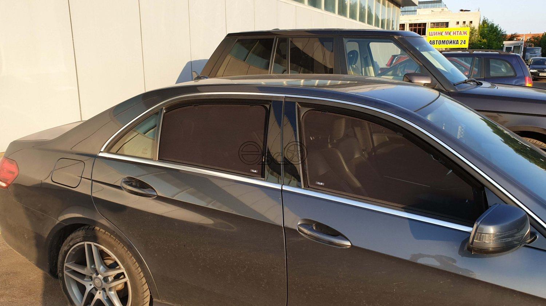 Шторки на авто Mercedes-Benz E-Class W212