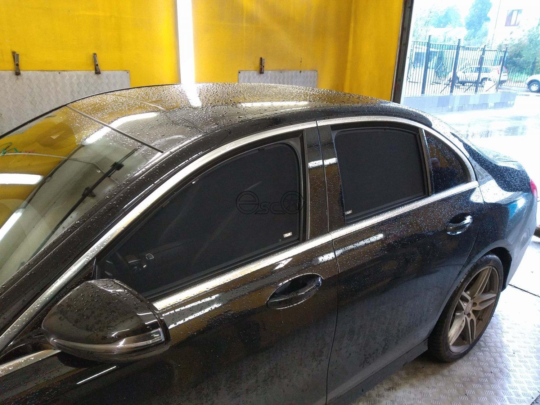 Каркасные шторки на Mercedes-Benz E-Class W213