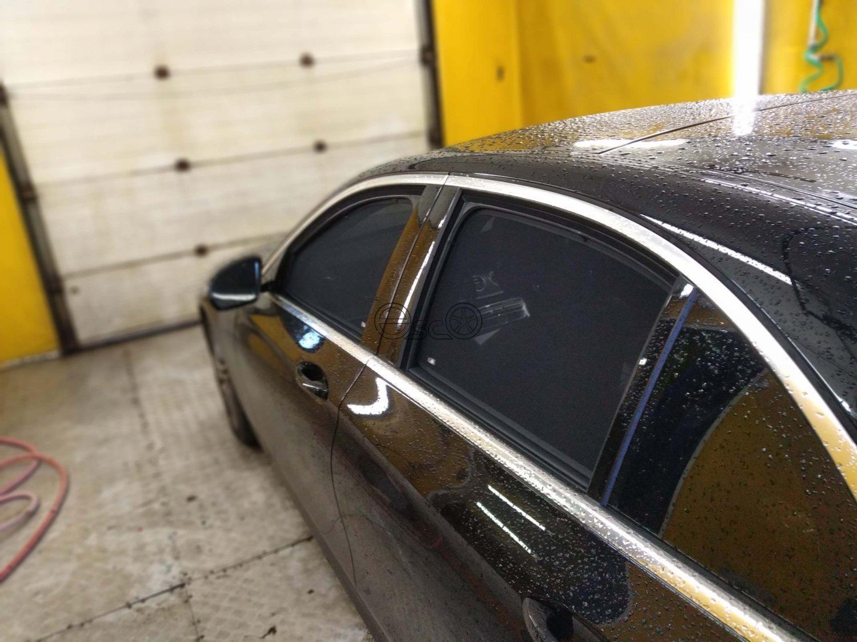 Каркасные сетки на окна Mercedes-Benz E-Class W213