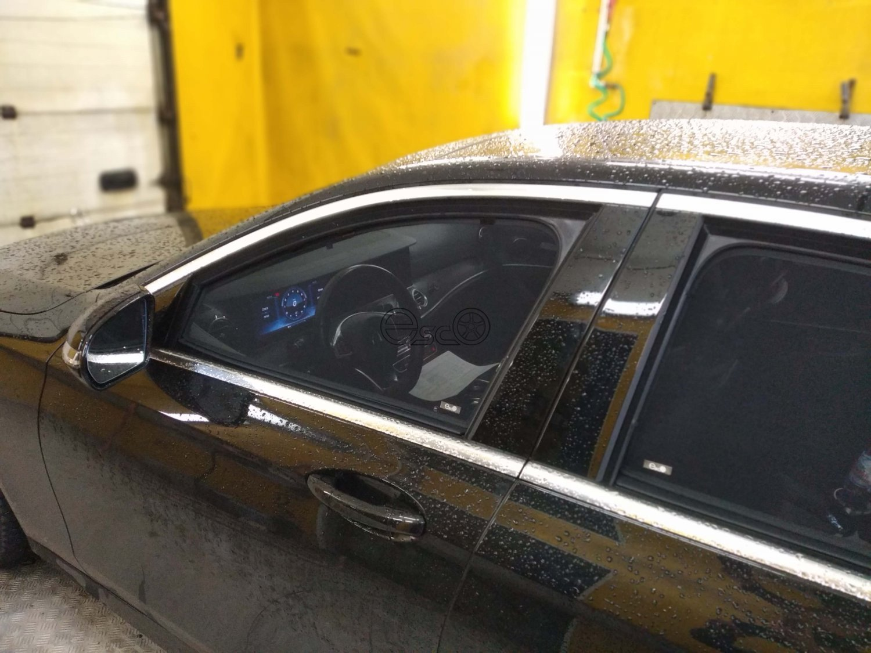 Съемная тонировка на Mercedes-Benz E-Class W213