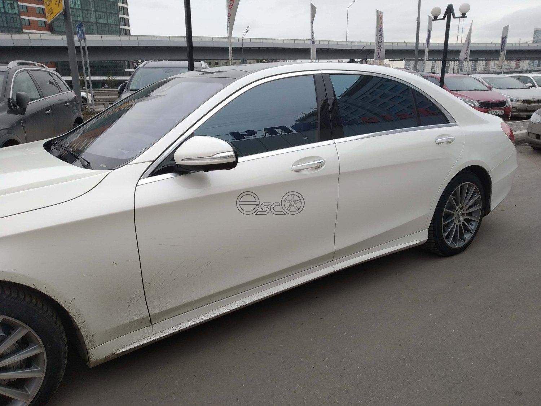 Каркасные шторки на Mercedes-Benz S-Class W222