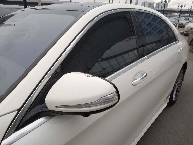 Каркасные сетки на окна Mercedes-Benz S-Class W222