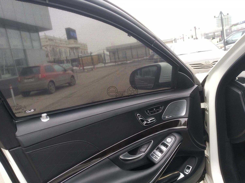 Съемная тонировка на Mercedes-Benz S-Class W222